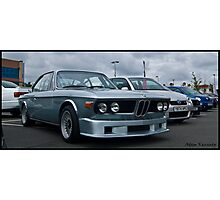BMW CSL Detailed 2010 Photographic Print