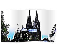 Der Kölner Dom Poster