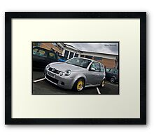 VW Lupo GTI - Lupo 2010 Framed Print
