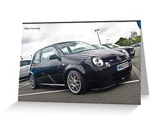 VW Lupo GTI - Detailed 2010 Greeting Card