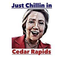 Just Chillin in Cedar Rapids Photographic Print