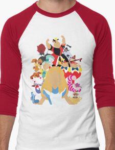Curiouser and Curiouser... Men's Baseball ¾ T-Shirt