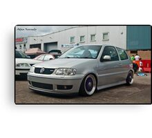 VW Polo GTI @ Detailed 2010 Canvas Print