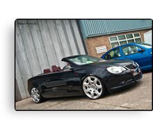 VW Eos @ Detailed 2010 Canvas Print
