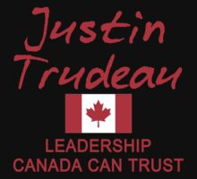 JUSTIN TRUDEAU LEADERSHIP CANADA CAN TRUST Kids Clothes