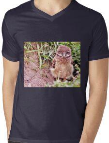Sad Eyes Mens V-Neck T-Shirt