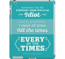 The Office Dunder Mifflin - Kevin Malone - Every of the Times iPad Case/Skin