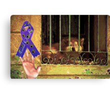 Protect your Friends Canvas Print