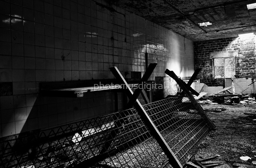 Derelict Kitchen by photomusdigital