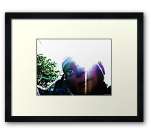 The Glory of Hugo, Man of a Thousand Faces Framed Print
