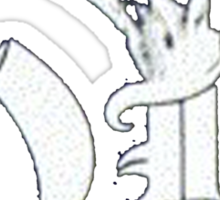 Ronnie James Dio Logo Sticker
