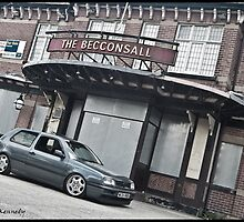 VW Golf MK3 GTI Outside Pub by Adam Kennedy