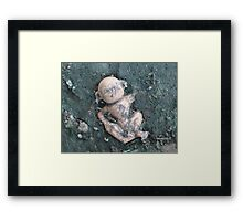 Dirty Monkey Framed Print