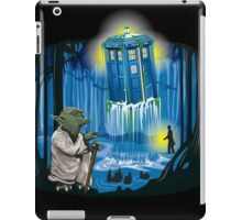 May the Tardis be with You iPad Case/Skin