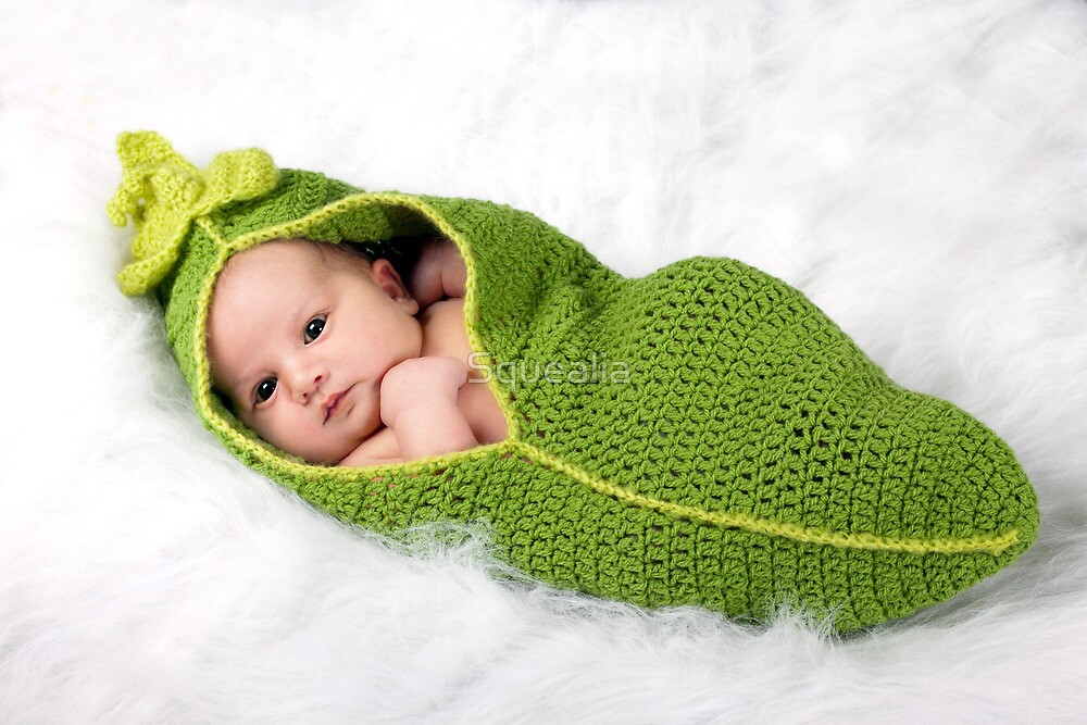 Wee Pea Pod by Squealia