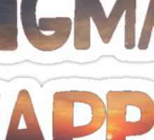 Sigma Kappa Sunset Sticker