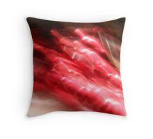 red rush Throw Pillow
