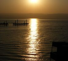 Sail on The Sea of Galilee by Kahlia Huddleston