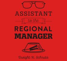 The Office Dunder Mifflin - Assistant to the Regional Manager Kids Tee
