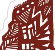 LeafyNewHampshaa Sticker