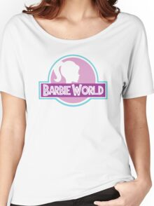 Barbie World Women's Relaxed Fit T-Shirt