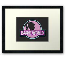 Barbie World Framed Print