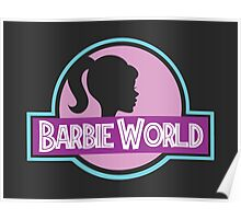 Barbie World Poster
