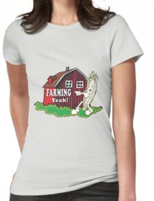 Farming Womens Fitted T-Shirt
