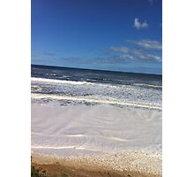 Foamy Logans beach III Photographic Print