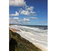 Foamy Logans beach IIIIII Photographic Print