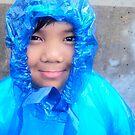 In Blue Saran Wrap by vanessalaurel