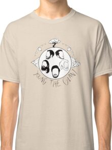 Young the Giant Festive Planet Black and White Classic T-Shirt