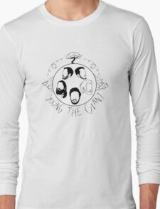 Young the Giant Festive Planet Black and White Long Sleeve T-Shirt