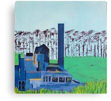Patea Freezing Works: Lights on, no one home XV Canvas Print