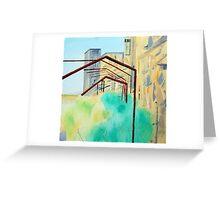 Patea Freezing Works: Metalwork VI Greeting Card