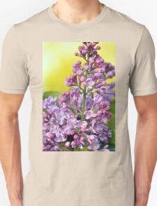 Oh the Aroma of Lilacs Unisex T-Shirt