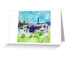 Patea Freezing Works: Ruined II Greeting Card