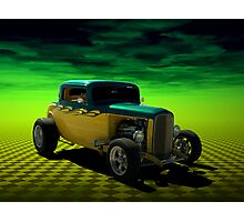 1932 Ford 3 Window Coupe Hot Rod Photographic Print