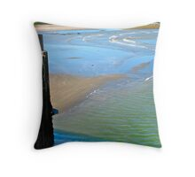 Port Maitland Beach II Throw Pillow