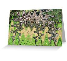 The Un-zebra Greeting Card