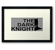 Knight Dark Framed Print