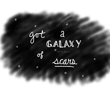 Jacob Whitesides Galaxy of Scars by whitesidestoxic