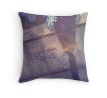 Wattery Grave Throw Pillow