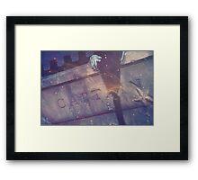 Wattery Grave Framed Print