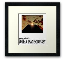 2001: A Space Odyssey Monolith Framed Print