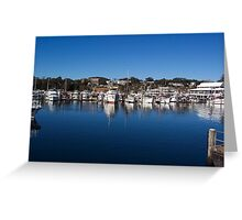 Harbour Blue Greeting Card