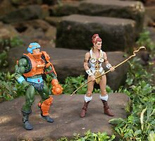 Masters of the Universe Classics - Teela & Man-At-Arms by GskullWarrior