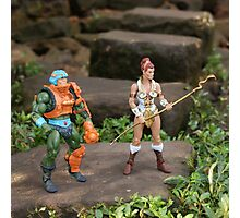 Masters of the Universe Classics - Teela & Man-At-Arms Photographic Print