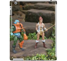 Masters of the Universe Classics - Teela & Man-At-Arms iPad Case/Skin