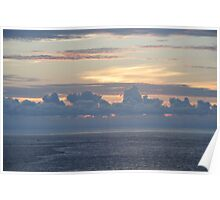 Another sunset on the high seas Poster